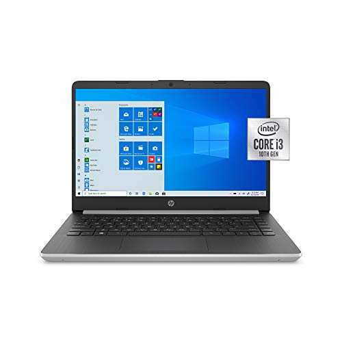 HP 14 inch Home and Business Laptop i3-1005G1, 16GB RAM, 1TB M.2 SSD, Dual-Core up to 3.40 GHz, Intel UHD Graphics, USB-C, 4K Output HDMI, Bluetooth, Webcam, Silver, Windows 10 Pro w/ RE Accessories