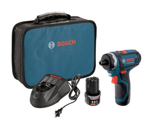 Product Image of the Bosch PS21-2A 12V Max 2-Speed Pocket Driver Kit with 2 Batteries, Charger and Case