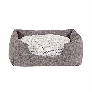 Boutique Zoo • cama para perros rosa oscuro/rosa • para pequeñas, Medianas y grandes, medianas perros (S, M, L, XL, XXL, XXXL) • Lavado Bar, Auto (de 51 x 15 cm hasta