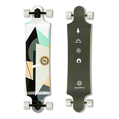 MINORITY Downhill Maple Longboard 40-inch Drop Deck (Geometry)
