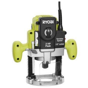 Ryobi ZRRE180PL1G 10-Amp 2 Peak HP EVS Plunge Router Renewed