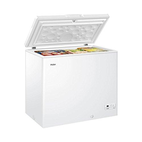 Haier HCE203RL Autonome Coffre 203L A+ Blanc congélateur - Congélateurs (Coffre, 203 L, 18 kg/24h, SN-T, A+, Blanc)