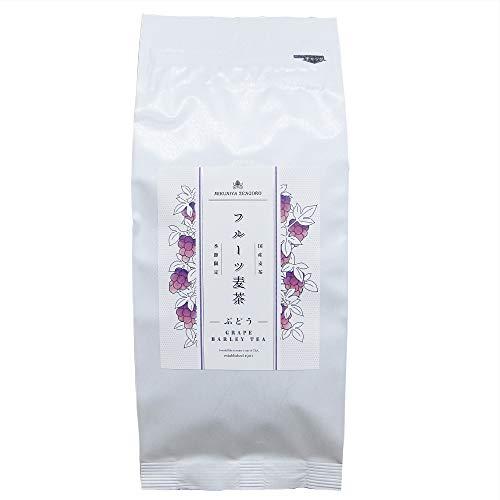 三國屋善五郎 フルーツ麦茶 10g×10p (ぶどう) お茶 ぶどうの麦茶 葡萄 ノンカフェイン ノンシュガー 健康茶