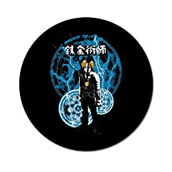 Edward Elric The Fullmetal Alchemist Wall Clock,Digital Wall Clock, Printed Wall Clocks, Wall Clocks Battery Operated, Wall Clocks for bedrooms, Wall Clocks for Living Room