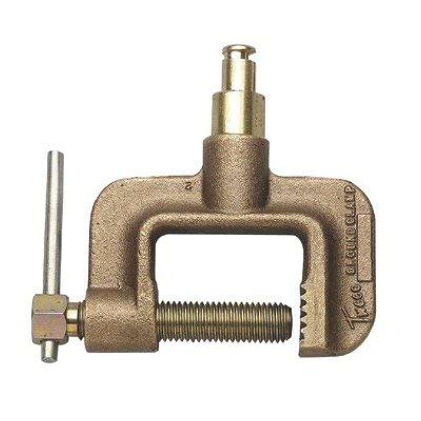 あいまいなカバールーチンGC-600-TMP 600 Amp C-Clamp Style Ground Clamp With Tweco? Male Plug [並行輸入品]