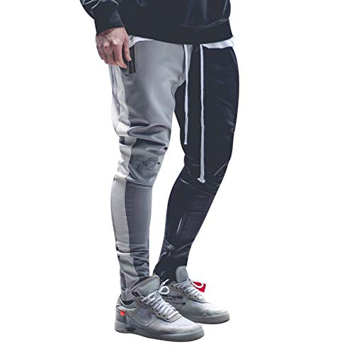 Oliviavan Pantalones Largos Para Hombre De Casual Hip Hop Loose Work Pantalones Largos Pantalones Vaqueros