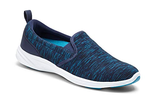 Vionic Women's Agile Kea Slip-on Navy 7M US