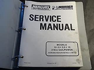 mariner 9.9 outboard owners manual