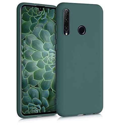 kwmobile Hülle kompatibel mit Honor 20 Lite - Hülle Silikon - Soft Handyhülle - Handy Hülle in Blaugrün
