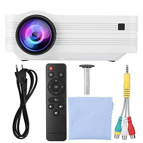 Proyector doméstico, proyector, Full HD para Dispositivo de vídeo doméstico Android Sistema de proyector de Cine en casa(European Standard 110-240V, 12)
