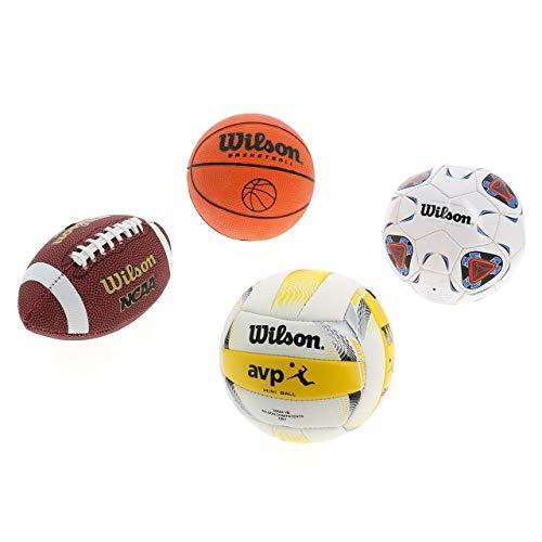 WILSON Micro Sports 4BALL KIT Basketball, Various