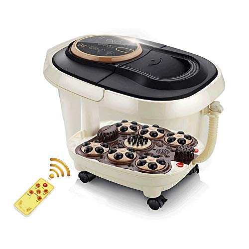Review Of Lcxligang Foot Spa/Bath Massager, with Motorized Rollers, Shiatsu Massage, Shower, Heat, T...
