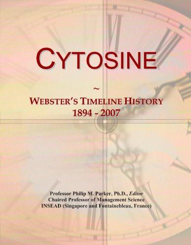 Cytosine: Webster's Timeline History, 1894 - 2007