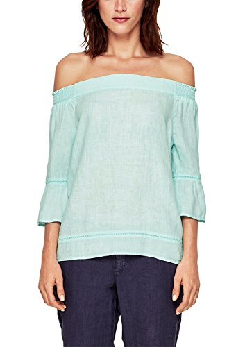 s.Oliver 14.805.19.3632 Blusas, Turquesa (Pale Turquoise 6110), 48 para Mujer