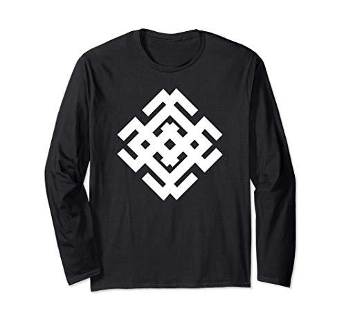 Belobog slawisches Symbol für Licht, Güte, Glück Langarmshirt