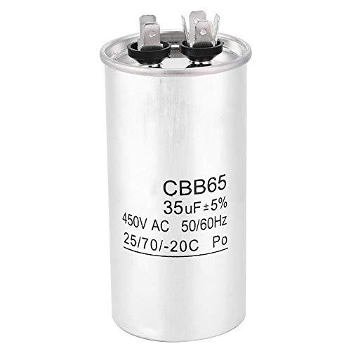 Condensatore CBB65A 450V 35UF Condensatore di avvio del condizionatore d'aria in foglio di alluminio per condizionatore...