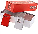 LUCOBE Cards Games Against Disney The Table Cards Game Party Cards Game for Adult (Box Red)