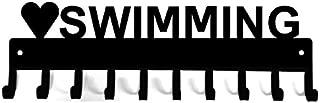 The Metal Peddler Love Swimming Medal Hanger Rack & Ribbon Display