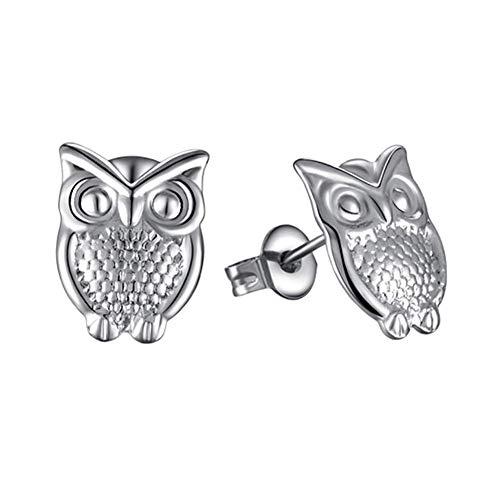 DZX Eule Ohrringe Ohrringe Frauen Schmuck Ohrringe Einzigartige Ohrringe Hypoallergene Ohrringe Kreative Ohrringe Funkelnde Ohrringe