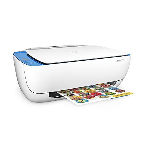 HP DeskJet 3639 Impresora multifunción  (tinta instantánea, impresora, escáner, copiadora, WLAN, Airprint) con 2 horas de muestra HP Instant Ink incluida