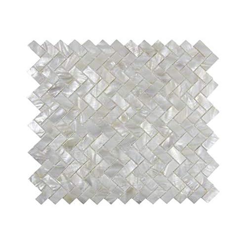 Herringbone Tile Backsplash Amazon Com