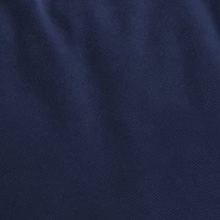 Passion Suede - Microsuede Upholstery Fabric Sold by the Yard or Roll - 10 Yards, Navy Blue