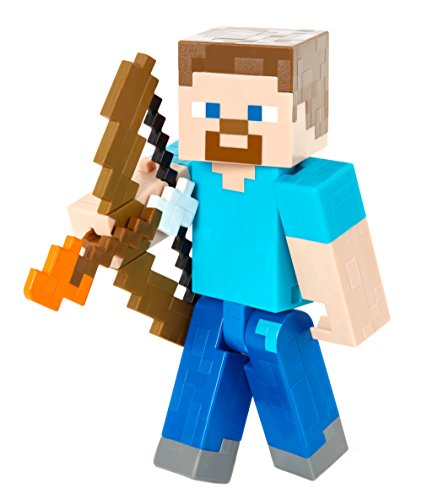 Minecraft Steve with Bow and Arrow Figure