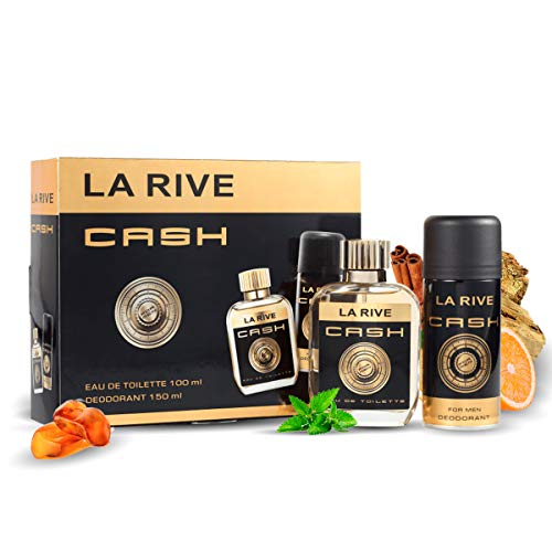 La Rive Cash For Men Edt 100 ml + Deodorant 150 ml Set