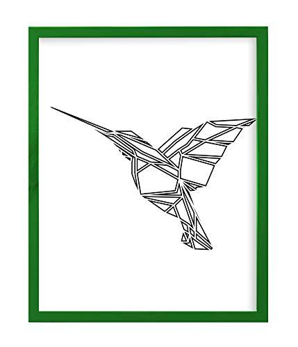 Postergaleria Cornice per foto grande   30x40   Verde   Di legno   8 colori   Diverse dimensioni   Cornici per poster