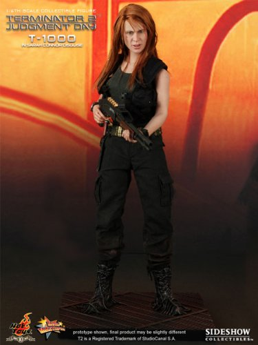 Hot Toys Movie Masterpiece Terminator T-1000 in Sarah Connor Disguise 12