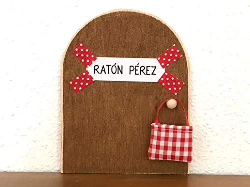 La auténtica puerta mágica del Ratoncito Pérez. Con una preciosa bolsita de...
