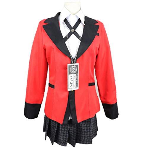 Cosplay Schuluniform Anime Cosplay Kostüm High School Uniform Halloween Party Cosplay Kostüm für Frauen Mädchen Set
