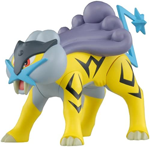 venta al por mayor barato Pokemon Japanese negro blanco 6 Inch Vinyl Figure Figure Figure Raikou (japan import)  online al mejor precio