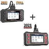 FOXWELL NT604 Elite OBD2 Scanner ABS SRS Transmission and NT624 Elite All System Car Diagnostic Scanner for All Cars