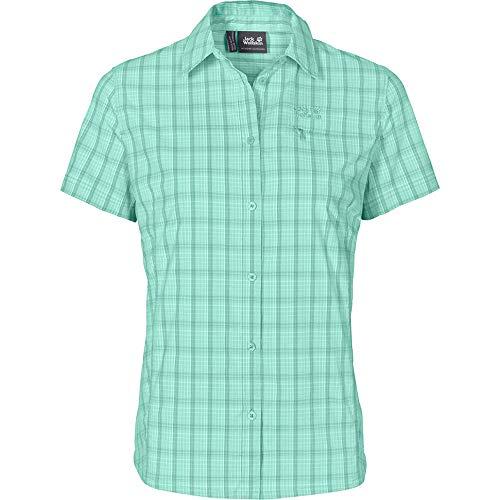 Jack Wolfskin Damen Centaura Stretch Vent Shirt W Hemd, Pale Mint, S