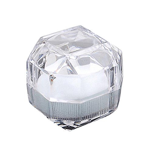 Geschenkbox Ringbox Kristallbox für Ringe Ketten Ohrringe Schmuck