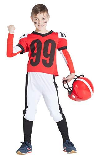 Banyant Toys, S.L. Disfraz DE Jugador DE Rugby Rojo