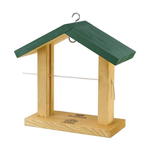 JPVGIA Bird Feeder Die Beste Vogelfütterungsstation aus Holz Bird Feeder Buffet aus Holz Obst Pin Regal