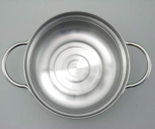 下村企販鍋土鍋風【日本製】3層鋼ステンレスIH対応鍋卓上鍋22cm41637燕三条