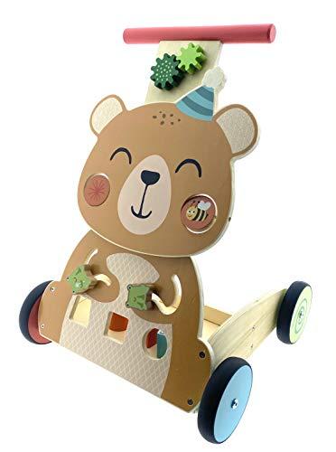 Lauflernwagen mit vielen Spielmöglichkeiten Lafwagen Lernlaufwagen
