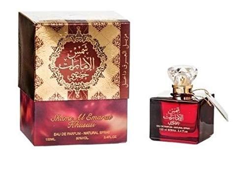 Shams Al Emarat Khususi By Ard Al Zaafaran Spray Natural Woody Warm Spicy Musk by Ard al Zaafaran