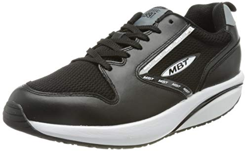 MBT Herren MBT-1997 Leather Sneaker, Negro, 44 EU