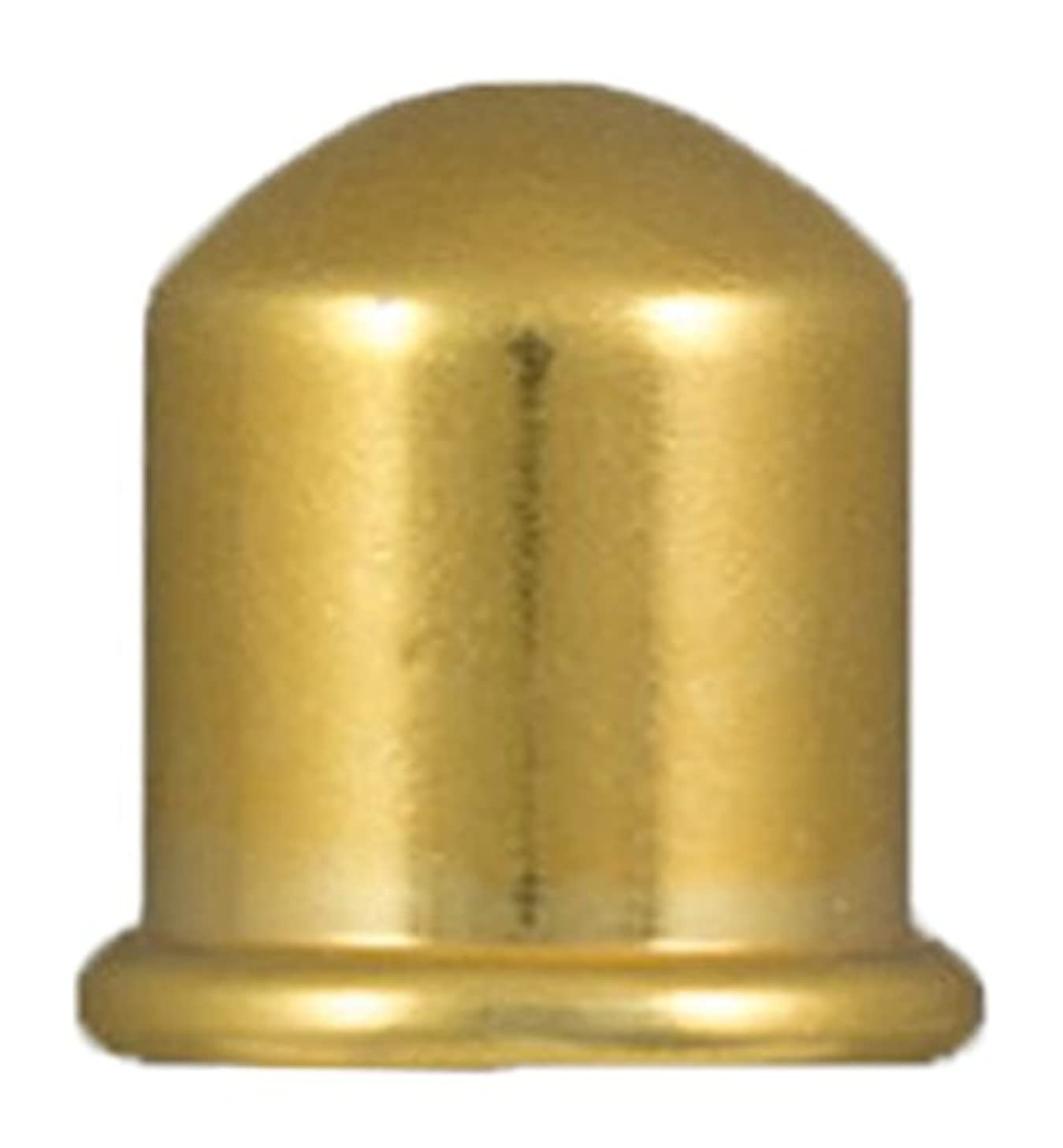TierraCast Cord End Cupola Beads, 8mm Inner Diameter/12mm Bright Gold,