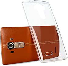 Tektide Case for LG G4, [Invisible Armor] Xtreme Slim, Clear, Soft, Lightweight, Shock Absorbing TPU Bumper Case/Back Cover for H811(T-Mobile) H810 (AT&T) VS986(Verizon) LS991(Sprint) US991