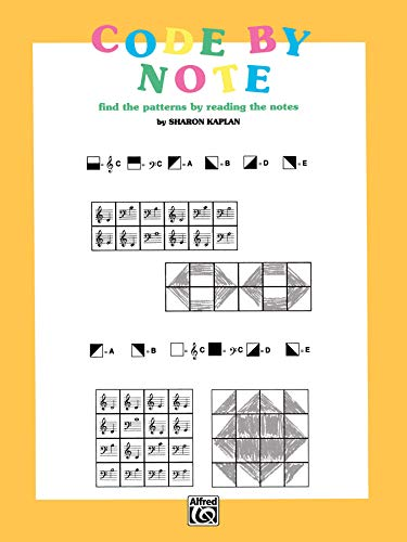 Code by Note, Bk 1: Find the Patterns by Reading the Notes, Coloring Book (Color by Note, Bk 1)