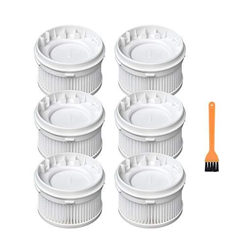 SDFIOSDOI Piezas de aspiradora Pincel rodante Filtros HEPA Peine Fit para MIJIA 1C Handheld Wireless Aspirador de vacío Cepillo Principal Pinceles Limpieza Peine (Color : 13)