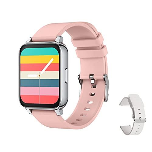 DKM Men's Women's 2021 Smartwatch 1.69 Pulgadas Pantalla Impermeable Ritmo Cardíaco Ritmo Cardíaco Deportes Reloj Inteligente Más Reloj,J