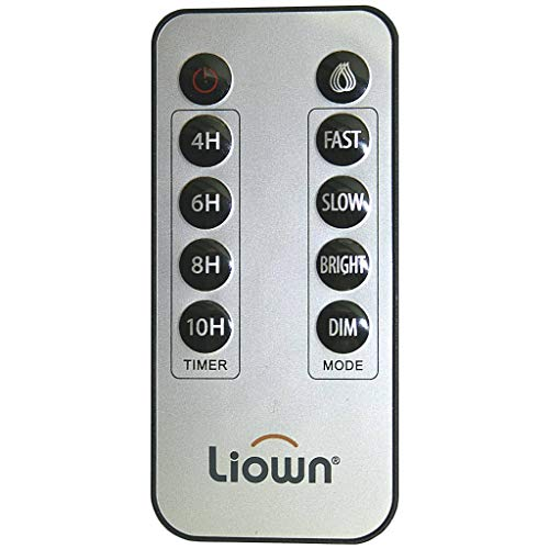 Multifunction Remote Control for Liown Moving Flame Flameless Candles