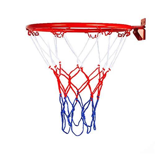Haloku Canestro da Basket Anello, da Basket Goal Canestro Bordo Rete, Pieghevole da Parete Canestro Anello per Interni Esterni Bambini