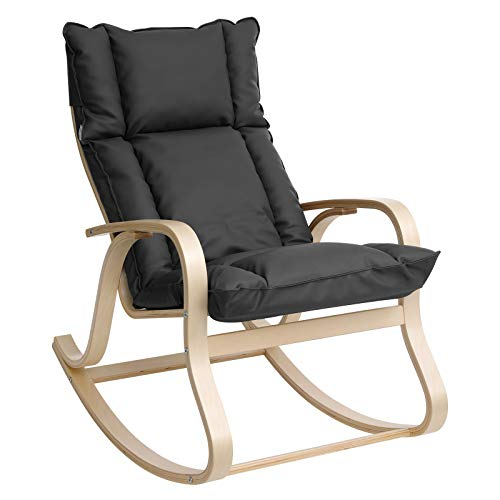 Rocking chair rembourré